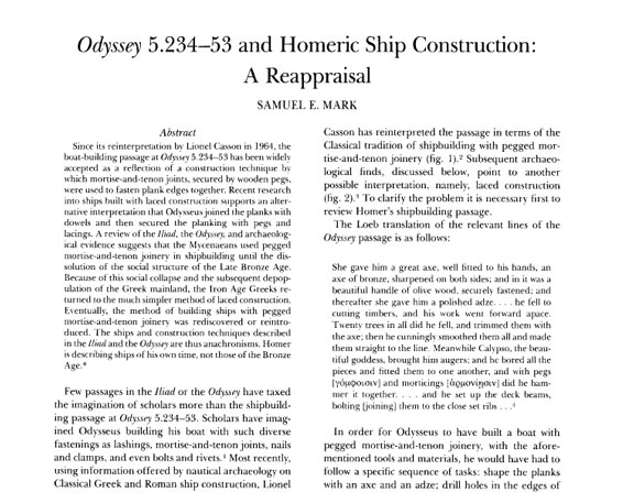 Primera página de un artículo científico distribuido por JSTOR.