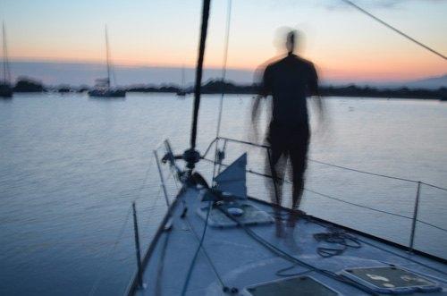 Fondeo en las islas Lavezzi