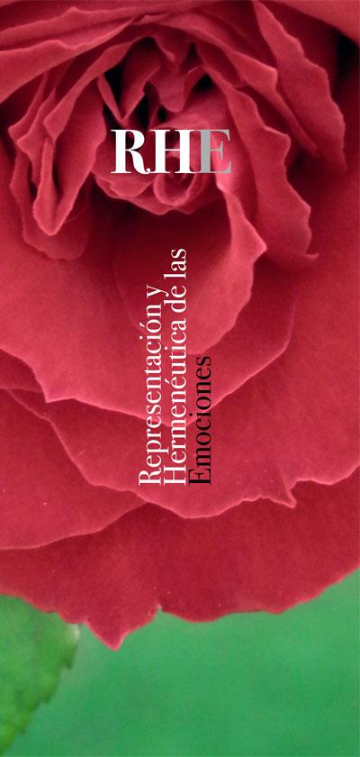 Folleto de las Jornadas de investigación hermenéutica «Representación y hermenéutica de las emociones»