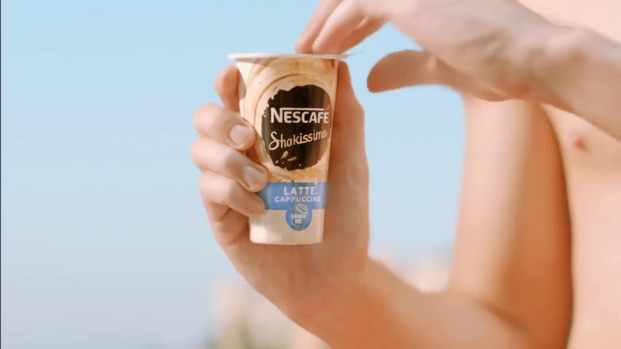 Captura de anuncio de Nescafé shakissimo