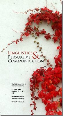 Cartel de Linguistics & Persuasive Communication