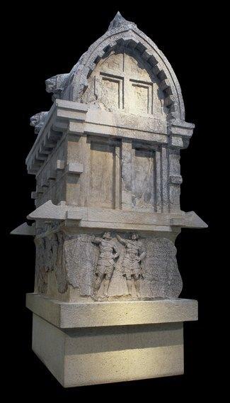 Tumba de Payava, un aristócrata licio, en la Galería 15 del British Museum